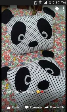 Patchwork Pillow Baby Cushions 36 Ideas – Knitting And Crochet Baby Pillows, Kids Pillows, Animal Pillows, Throw Pillows, Sewing Toys, Sewing Crafts, Sewing Projects, Patchwork Baby, Patchwork Pillow