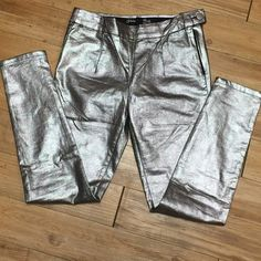 Celebrity pink- skinny fit pants- Great party pants! Pair them with any black top and you will make quite an entrance :) Awesome fabric with a bit of stretch. Celebrity Pink Pants Skinny