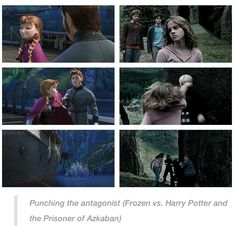 Anna vs Hermione. Girl power.
