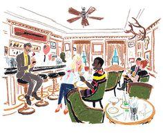 The Bar Hemingway Ritz Paris, When I Dream, Vacation Wishes, Paris Girl, 5 Star Hotels, Belgium, Illustrators, France, History