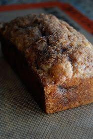 *Cinnamon Swirl Banana Bread -made this, it's easy and yummy.