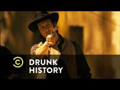 Drunk History: Billy the Kid.This is a seriously funny show! History is reenacted through the eyes of a drunk. Check out this clip.but it's not for the kiddos. Drunk History, Pat Garrett, Kids Comedy, Drunk People, Billy The Kids, Jessie James, Seriously Funny, History Channel, Infatuation