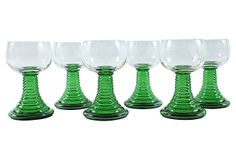 One Kings Lane - From the Personal Warehouse - Roemer Cocktail Glasses, Set of 6  $129
