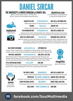 30 Best Resumes for Creative Fields images | Resume Design, Creative ...