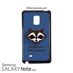 Rocket Raccoon Superhero Samsung Galaxy Note EDGE Case