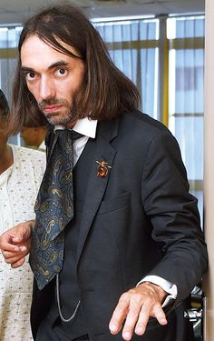 Mathematician Cedric Villani-he is my idea of how Dr Stephen Maturin should look (lovely as Paul Bettany is....)