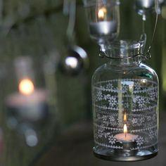 Image of Moonlight Painted Lantern