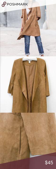 STEVE MADDEN Faux Suede Jacket Beautiful Faux Suede Jacket • No defects Steve Madden Jackets & Coats