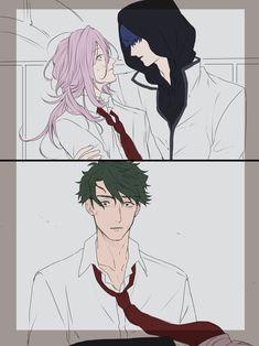 Infinity Art, Ship Art, Fujoshi, Animes Wallpapers, Aesthetic Anime, Webtoon, Anime Guys, Cherry Blossoms, Anime Art