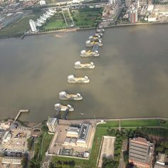 It was requested earlier, so here's #thamesbarrier #london #@MPSinthesky #river