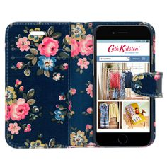 Latimer Rose iPhone 6 Case with Card Holder | Cath Kidston |