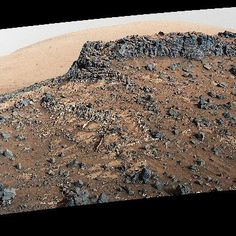 Science: See Curiosity Rovers Striking View of Garden City on Mars
