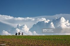 Palencia Spain : Riding between clouds