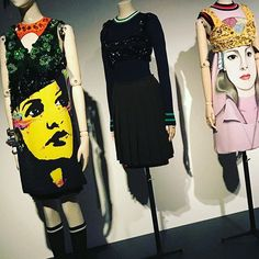 The New Baroque: Prada as seen in The Vulgar: Fashion Redefined at London's #barbicanartgallery Co-curators Judith Clark and Adam Phillips.