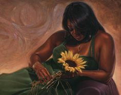 """Sunflower Dream"" By Kevin wak Williams."