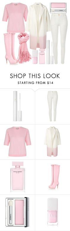 """pink & white..."" by j-n-a ❤ liked on Polyvore featuring Lancôme, River Island, DuÅ¡an, Clinique and Christian Dior"