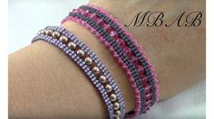 Fancy Lace Bracelet ~ Seed Bead Tutorals