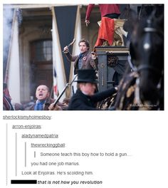 Marius, that is not how you revolution! Too funny to ever not repin!!!