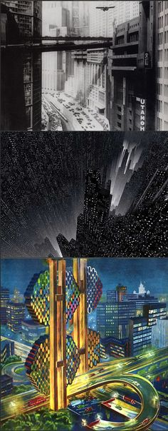 More imagined retro-future cityscapes from awesomearchitecture.com