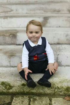 The adorable future king of England, Prince George