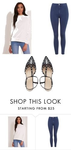 """Untitled #4046"" by clarry-sinclair ❤ liked on Polyvore featuring Topshop and ASOS"