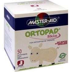 ORTOPAD Skin junior Augenokklusionspflaster:   Packungsinhalt: 50 St Pflaster PZN: 00612051 Hersteller: Trusetal Verbandstoffwerk GmbH…