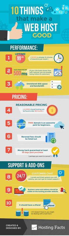 Choosing the right web hosting service for your business is a very important decision. There are plenty of attractive web hosting offers available online these days. Not all are worth taking advantage of. Hosting Facts has published an infographic that can help you choose the right web host for your site: