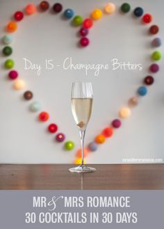 30 Cocktails in 30 Days – Day 15: the Champagne Bitters Cocktail