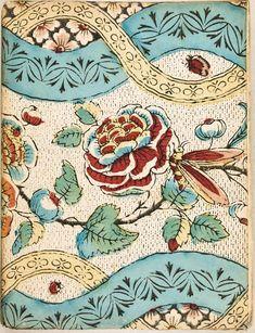 A Turtle's Salon du The Motifs Textiles, Vintage Textiles, Textile Patterns, Vintage Patterns, Vintage Prints, Vintage Floral, Print Patterns, Paper Patterns, Illustration Française