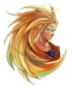 Dragon Ball Z | Goku | SSJ3 | Anime