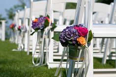 Wedding Ceremony Accessories | Providence Florist | Rhode Island Wedding Flowers