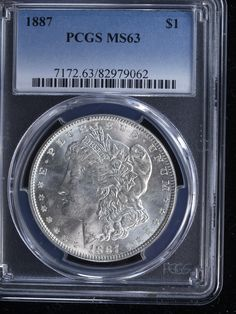 #New post #1887 $1 Morgan Silver Dollar #2 PCGS MS63  http://i.ebayimg.com/images/g/Hc4AAOSw44BYmf3M/s-l1600.jpg      Item specifics     Year:   1887   Country/Region of Manufacture:   United States     Composition:   90% Silver, 10% Copper   Certification Number:   82979062     Grade:  ... https://www.shopnet.one/1887-1-morgan-silver-dollar-2-pcgs-ms63/