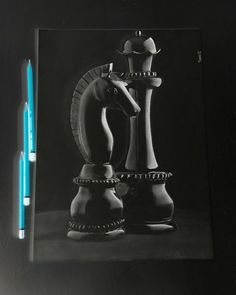 Let's play chess...Inverted drawing..