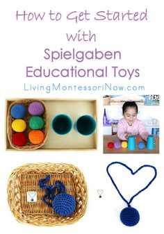 Spielgaben is meant for ages 3-12. But the activities are laid out easily & sequentially so you can use the toys to teach numerous skills to your children.