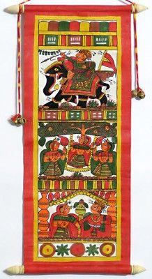 Folk Arts of India :: Phad Painting