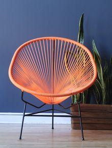 Acapulco Chair ~ Orange