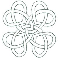 Celtic Lines Machine Embroidery Designs from A Design By Lyn