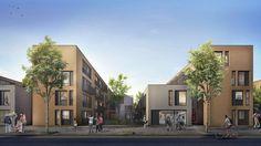 Primer Premio Concurso de anteproyectos para la relocalización de viviendas en el Riachuelo - Barrio Orma / Buenos Aires