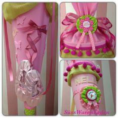 Zuckertüte für Mädchen, Geschwisterset, Ballarina