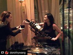 Thank you @DorothyWang for dining at Sinatra yesterday. It was a pleasure having you.  #Wynn by wynnlasvegas