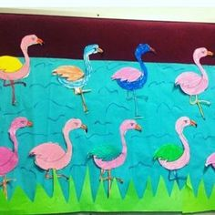 Flamingo craft idea for kids | Crafts and Worksheets for Preschool,Toddler and Kindergarten