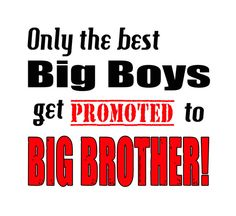 Big Brother One Piece Promoted to Big Brother Shirt Promotion New Sibling Tee Newborn Sister Infant Baby Brother 6 12 18 24 Month Clothing on Etsy, $13.99