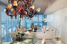 Luxurious Jade Ocean by Britto Charette I think I would have where all the windows opened up