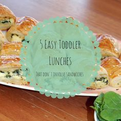 Yellow Dandy : 5 Easy Toddler Lunch Ideas: That don't involve sandwiches