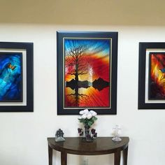 Would you like this DeRubeis collection in your home? 😍🖼️️ Post a photo of your home gallery using for via Display, Park, Canvas, Gallery, Frame, Painting, Collection, Instagram, Home Decor