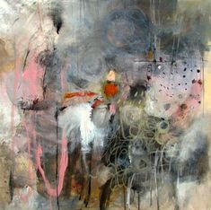 Artist Spotlight Series: Wendy McWilliams - The English Room Abstract Images, Abstract Landscape, Landscape Paintings, Abstract Art, Abstract Paintings, Paintings I Love, Art Studies, Abstract Expressionism, Figure Painting