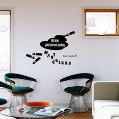 wallsticker paint Wallpaper interior Design