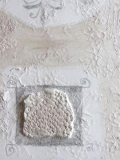 """""""nel tempo"""", particolare tecnica mista su tela cm 70x120"""