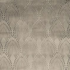 Glamorous upholstery Jacquard. Intricately detailed. Inspired by 'flapper' dresses of the 1920's.