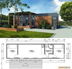 Shipping Container Concept Blueprint Plans For Sale 3